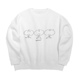 サキクラゲちゃんーClassicー Big Crew Neck Sweatshirt