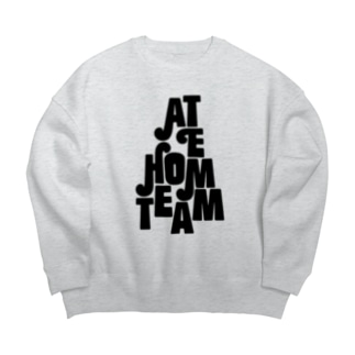 at HOME Big silhouette sweats