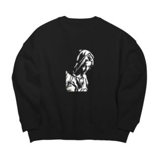聖母マリア Big silhouette sweats