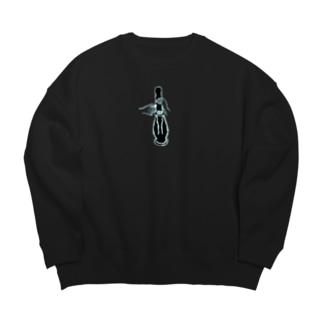 ボング Big silhouette sweats