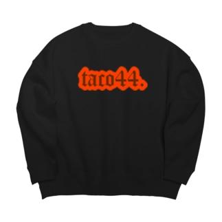 taco44.たこ焼き Big silhouette sweats