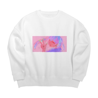 カトウちゃん Big silhouette sweats