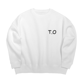 NO STOP の T.Oスウェット Big silhouette sweats