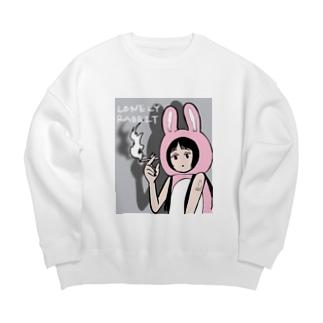 Lonely Rabbit Big silhouette sweats