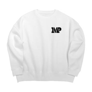 MPスラッシュロゴ Big Crew Neck Sweatshirt