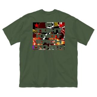 200928 Big silhouette T-shirts