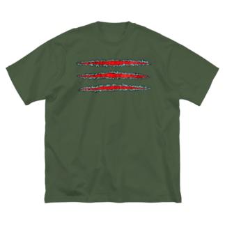 TSUME@ Big silhouette T-shirts