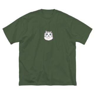 ラグドールのぐうちゃん Big silhouette T-shirts