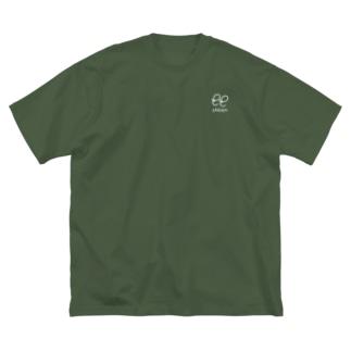 しせん Big silhouette T-shirts