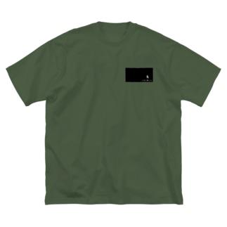 ymj&co. Big silhouette T-shirts