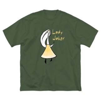 カクテル レディジョーカー Big silhouette T-shirts