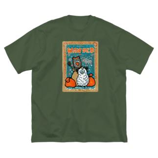 ひつじち Big silhouette T-shirts