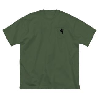chirari Big silhouette T-shirts