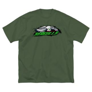 東海シーガルズ Over The Top 公式 Big silhouette T-shirts
