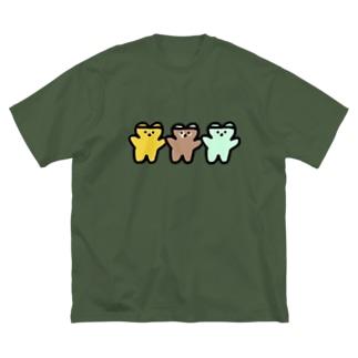 はちみつちょこみんとフレーバー Big silhouette T-shirts