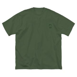 ヤング Big silhouette T-shirts
