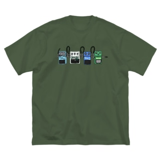 エフェクター Big silhouette T-shirts