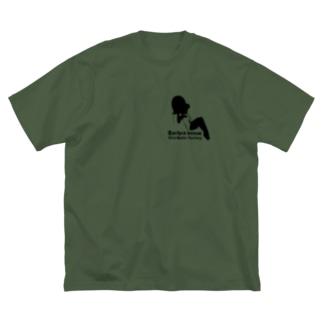 福田武比呂の Barbra Inoue Big silhouette T-shirts
