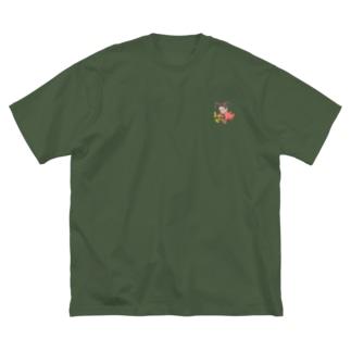 神々の系譜『え〜び〜』 Big silhouette T-shirts