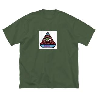 666 Big silhouette T-shirts