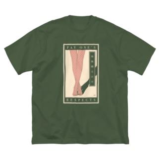 なむあみたいつBIG Big silhouette T-shirts
