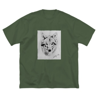 Lonely eyes Big silhouette T-shirts