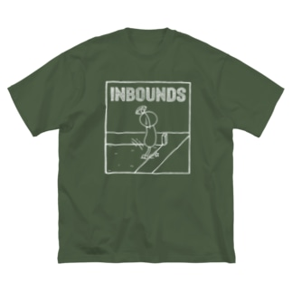 PBスティック君 inbounds Big silhouette T-shirts