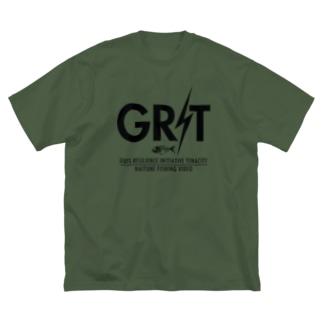 GRITビッグシルエット Big silhouette T-shirts