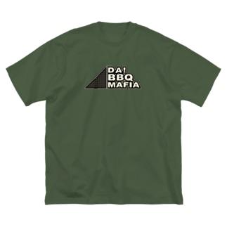 DA! BBQ MAFIA _ SeC Big silhouette T-shirts