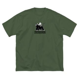 D.evil brith - color Big silhouette T-shirts