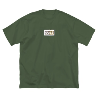 UNIQUEMANIAC×QUESコラボ森林柄 Big silhouette T-shirts