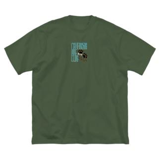 CALIFORNIA DOG CLUB Big silhouette T-shirts