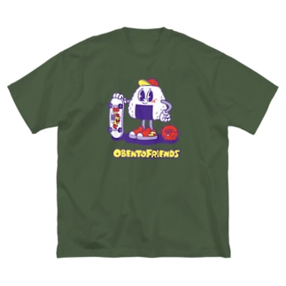 おべんとうフレンズ Big silhouette T-shirts