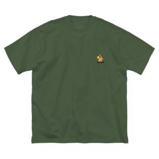 ハニワノミコト Big silhouette T-shirts