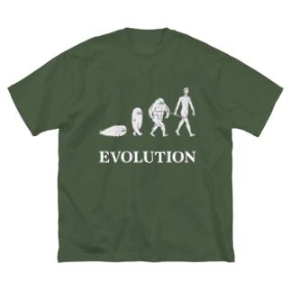 """足ザラシ""""EVOLUTION"""" Big T-shirts"""