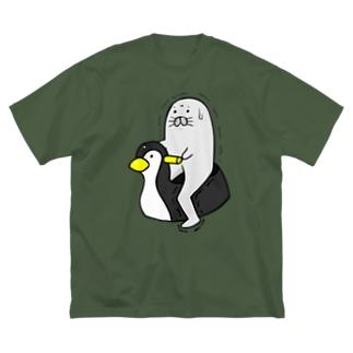"""足ザラシ""""トイレ"""" Big T-shirts"""