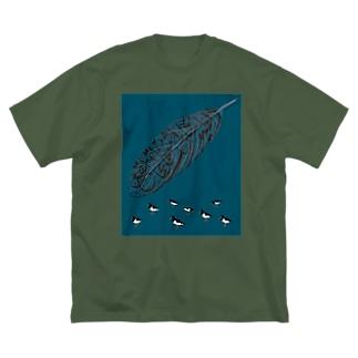 ミヤコドリ 【アラビア語】 Big T-shirts