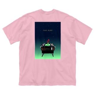 テーブルゲームのお告げ Big silhouette T-shirts