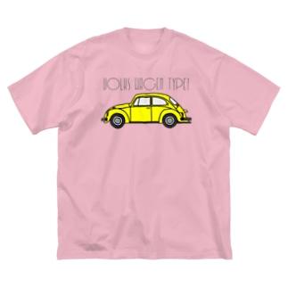 VOLKSWAGEN TYPE1 Big silhouette T-shirts