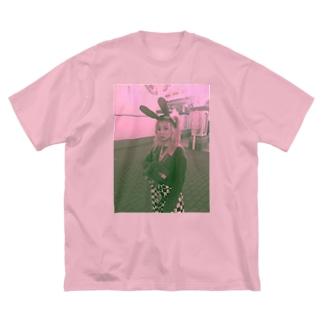 ふぇ?!ほ、ほんものお〜?! Big silhouette T-shirts