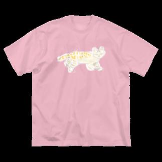 マルティ部屋のアンデスネコ Big silhouette T-shirts