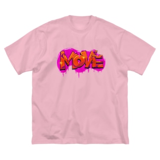 MOVE ムーブ 019 Big silhouette T-shirts