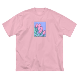 🌷 Big silhouette T-shirts