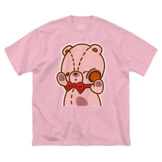 ラムの「のぞき見」編 Big silhouette T-shirts