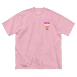 miyako chan Big silhouette T-shirts