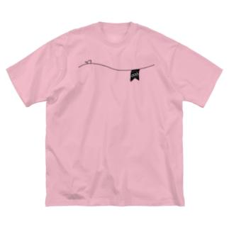 ペアデザイン(Mrs)ガーランド Big Silhouette T-Shirt