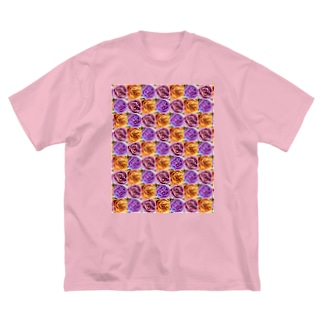 ROSE.ROSE.ROSE10 Big silhouette T-shirts