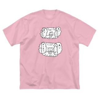 終わらないT Big silhouette T-shirts
