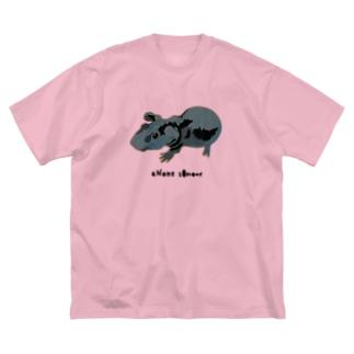 スキニーギニアピッグ Big Silhouette T-Shirt