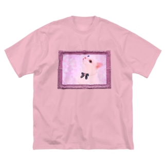 Actress Cat Big silhouette T-shirts